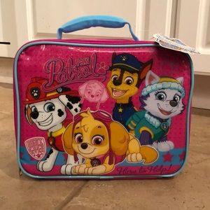 Other - Final Price❗️NWT Kids Paw Patrol lunch bag
